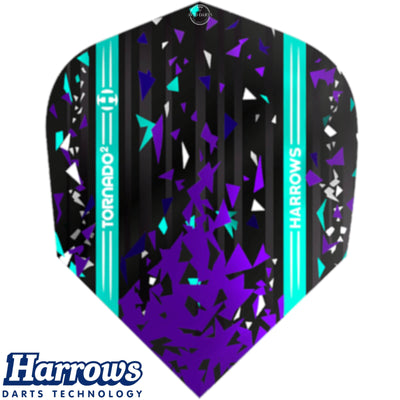 Harrows Darts - Dart Flights - Harrows - Prime - Standard Dart Flights - Tornado