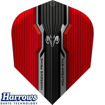Dart Flights - Harrows - Prime - Standard Dart Flights Wolfram