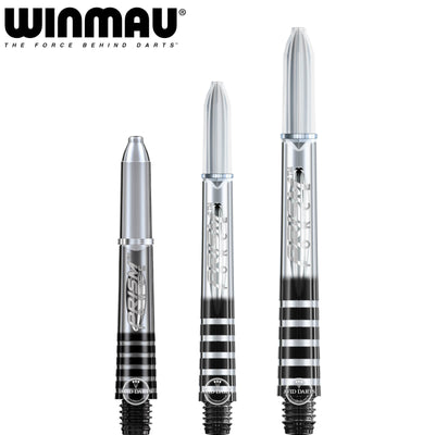 Dart Shafts - Winmau - Prism Force Polycarbonate Dart Shafts Short (35mm) / Clear