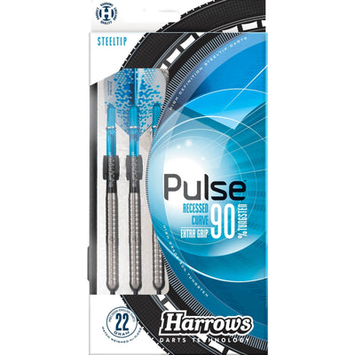 Darts - Harrows - Pulse Darts - Steel Tip - 90% Tungsten - 21g 22g 23g 24g 25g 26g