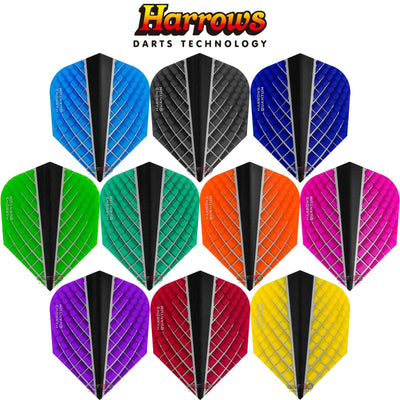 Dart Flights - Harrows - Quantum-X - Standard Dart Flights