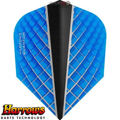 Dart Flights - Harrows - Quantum-X - Standard Dart Flights Aqua