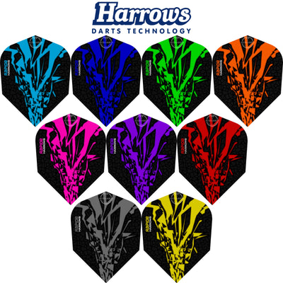 Dart Flights - Harrows - Rapide-X - Standard Dart Flights