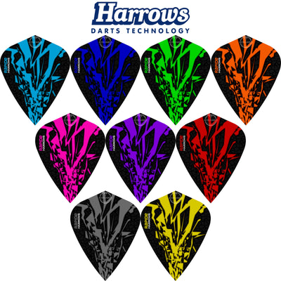 Dart Flights - Harrows - Rapide-X - Kite Dart Flights