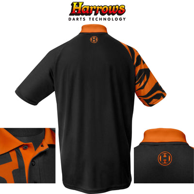 HARROWS Darts - Clothing - Rapide Breathable Dart Shirts - S to 5XL - S / Orange