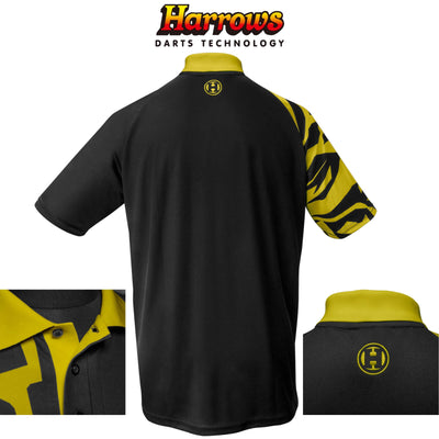 HARROWS Darts - Clothing - Rapide Breathable Dart Shirts - S to 5XL - S / Yellow