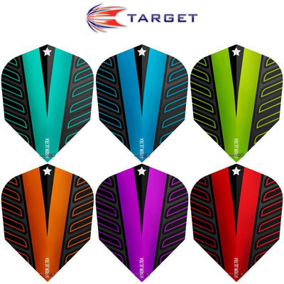 Dart Flights - Target - Rob Cross Voltage - Standard Dart Flights