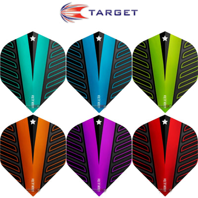 Dart Flights - Target - Rob Cross Voltage - Big Wing Dart Flights