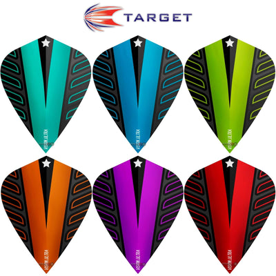 Dart Flights - Target - Rob Cross Voltage - Kite Dart Flights