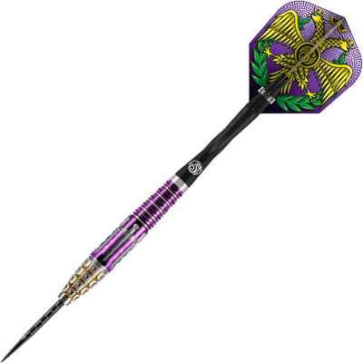 Darts - Shot - Roman Empire Caesar Darts - Steel Tip - 95% Tungsten - 22g 23g 24g 25g
