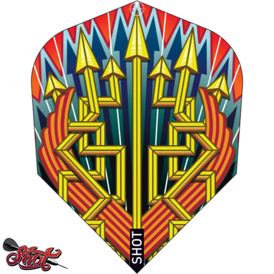 Dart Flights - Shot - Roman Empire - Standard Dart Flights Legion
