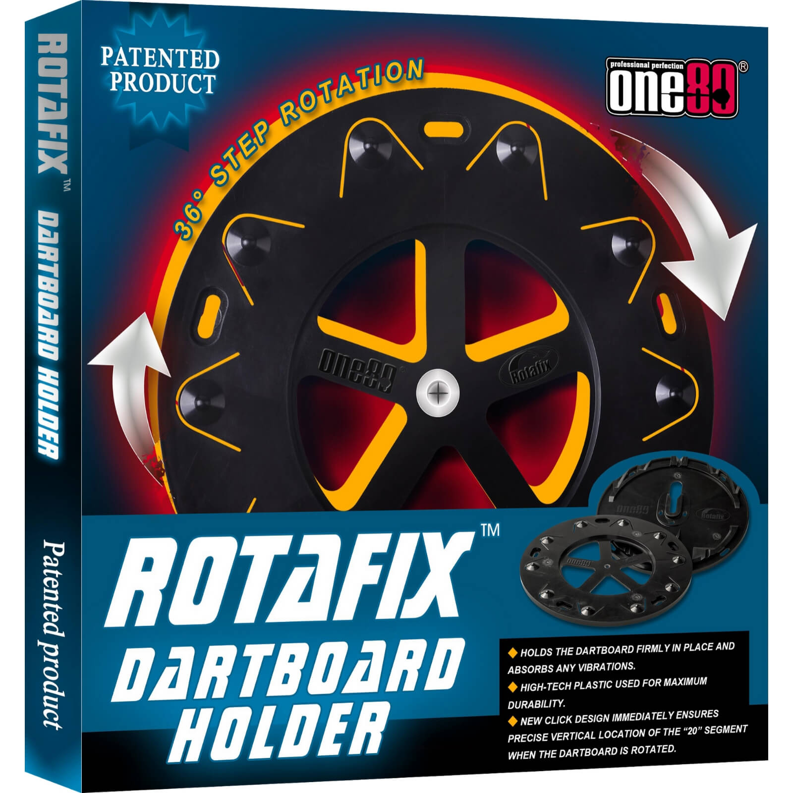 Dartboard Accessories - One80 - Rotafix Dartboard Holder