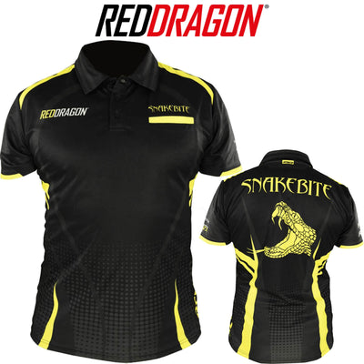 Dart Shirts - Red Dragon - Peter Snakebite Wright Tour Dart Shirts - S to 3XL