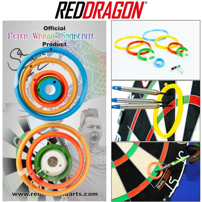 RED DRAGON Darts - Training Accessories - Peter Wright Practice Rings -