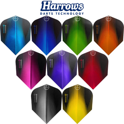 Dart Flights - Harrows - Sonic - Standard Dart Flights
