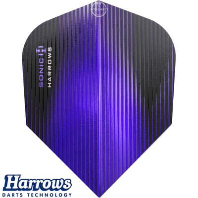 Dart Flights - Harrows - Sonic - Standard Dart Flights Purple