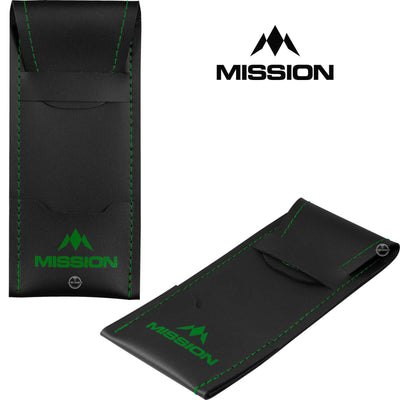 Dart Cases - Mission - Sport 8 Darts Case Green