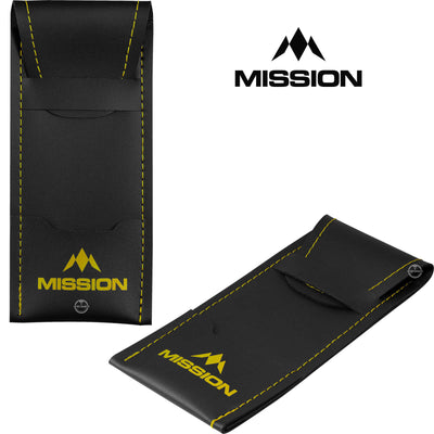 Dart Cases - Mission - Sport 8 Darts Case Yellow
