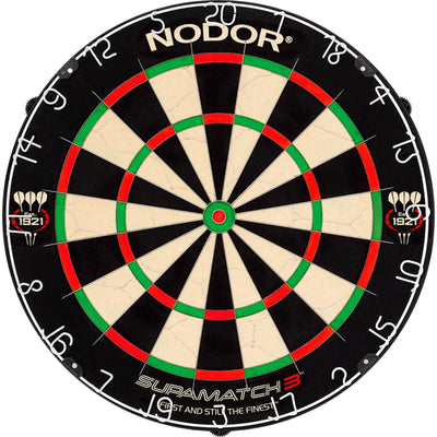 Dartboards - Nodor - Supamatch 3 Dartboard & Winmau Surround Package