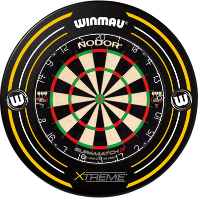 Dartboards - Nodor - Supamatch 3 Dartboard & Winmau Surround Package Xtreme 2