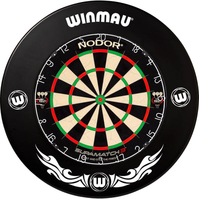 Dartboards - Nodor - Supamatch 3 Dartboard & Winmau Surround Package Xtreme