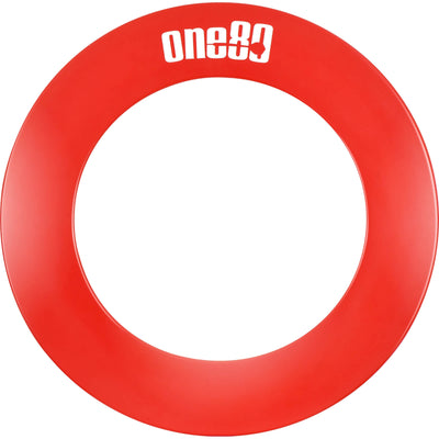 Dartboard Accessories - One80 - 1 Piece Dartboard Surround Red