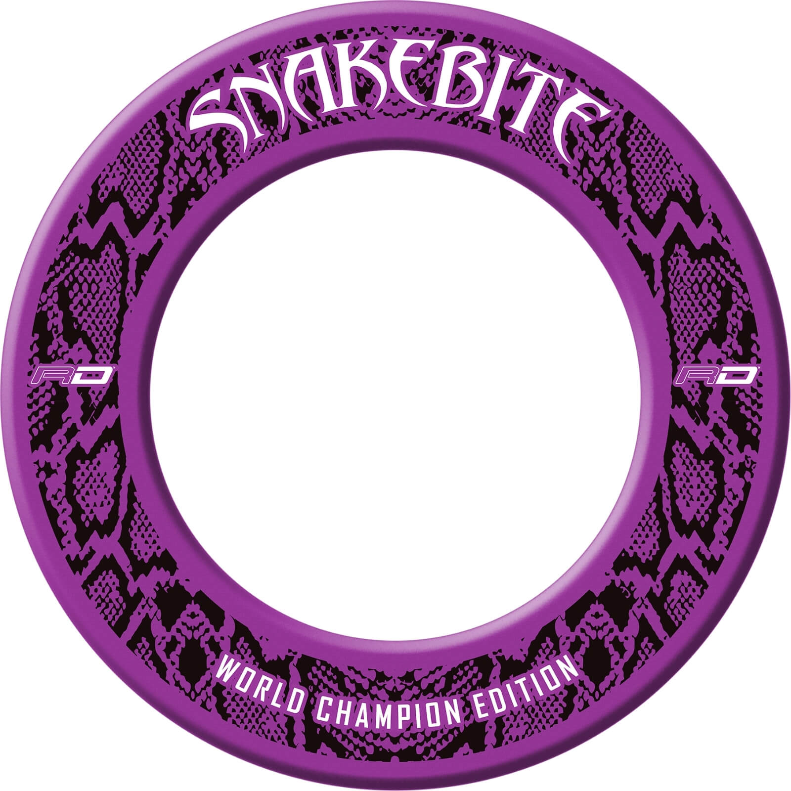 Dartboard Accessories - Red Dragon - Snakebite World Champion Edition Dartboard Surround