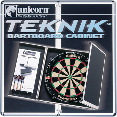 Dartboard Accessories - Unicorn - Teknik Aluminium Dartboard Cabinet