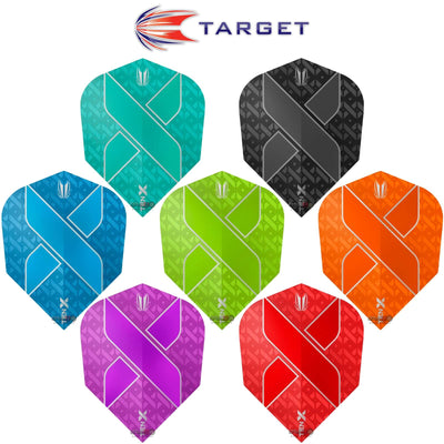 Dart Flights - Target - Ten-X - Small Standard Dart Flights