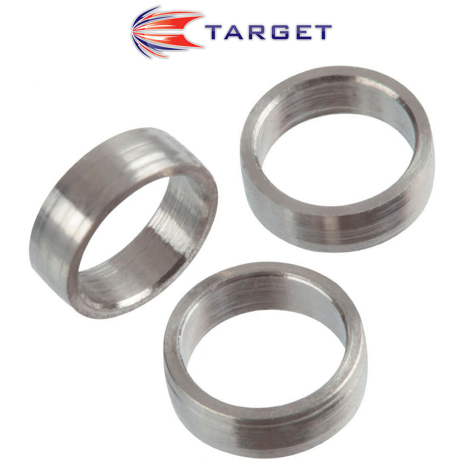 Shaft Accessories - Target - Titanium Slot Lock Dart Shaft Rings