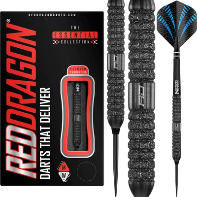 Darts - Red Dragon - Touchstone Darts - Steel Tip - 90% Tungsten - 22g 24g
