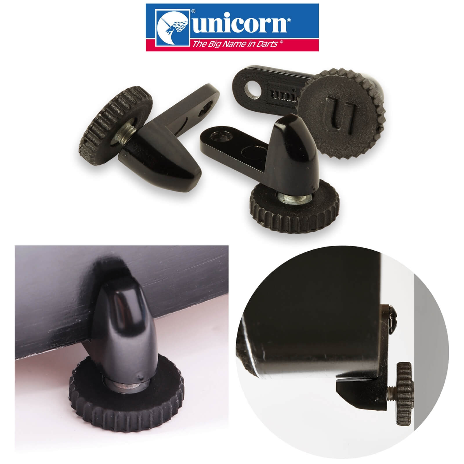Dartboard Accessories - Unicorn - Unilock Dartboard Locking System