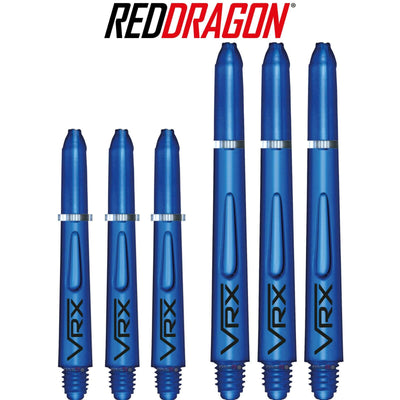 RED DRAGON Darts - Shafts - VRX Polycarbonate Shafts - Short (35mm) / Blue