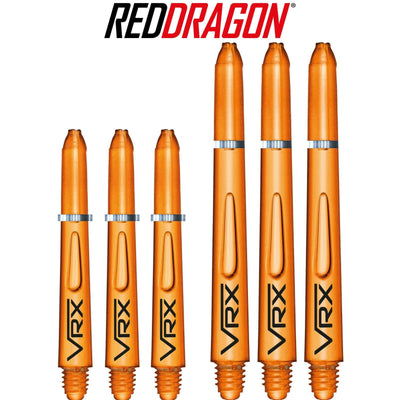 RED DRAGON Darts - Shafts - VRX Polycarbonate Shafts - Short (35mm) / Orange