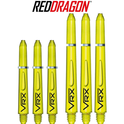 RED DRAGON Darts - Shafts - VRX Polycarbonate Shafts - Short (35mm) / Yellow