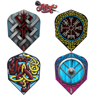 Dart Flights - Shot - Viking - Standard Dart Flights