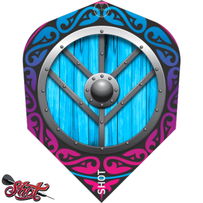 Dart Flights - Shot - Viking - Standard Dart Flights Shield-Maiden
