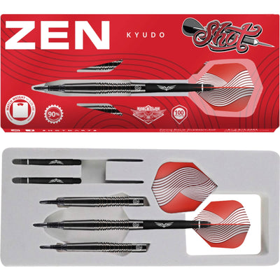 Darts - Shot - Zen Kyudo Darts - Soft Tip - 90% Tungsten - 18g 20g