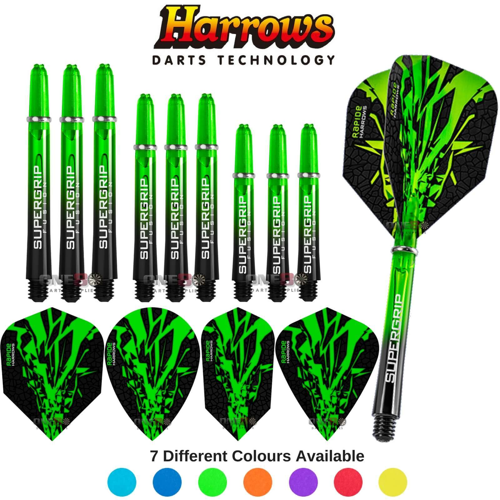 Training Accessories - Harrows - Rapide-X - Darts Test Setup Combination Kit Green