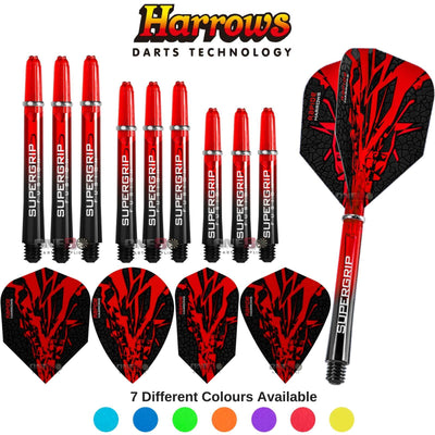 HARROWS Darts - Training Accessories - Rapide-X - Test Setup Combination Kit - Red