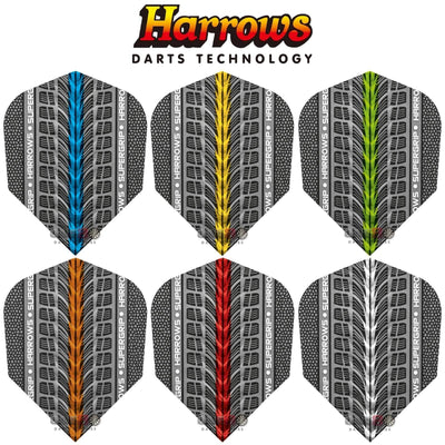 Dart Flights - Harrows - Supergrip - Standard Dart Flights
