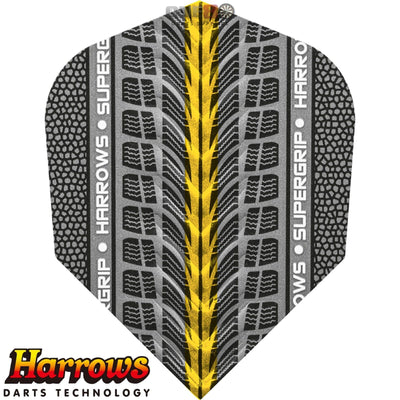Dart Flights - Harrows - Supergrip - Standard Dart Flights Gold