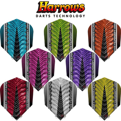 Dart Flights - Harrows - Supergrip-X - Standard Dart Flights