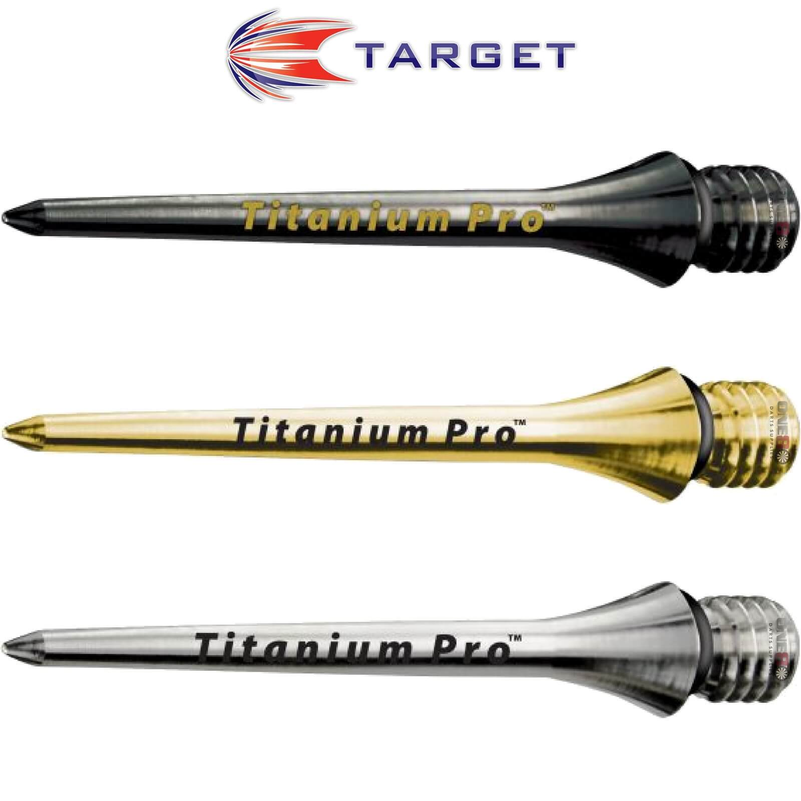 Point Accessories - Target - Titanium Pro Smooth Conversion Dart Points - 26mm 30mm