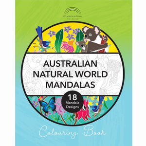 Australian Natural World - Colouring Book