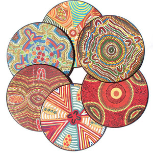 Coasters - Australian Made - Jukurrpa Arts