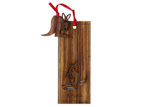 Wooden Bookmark - Kangaroo