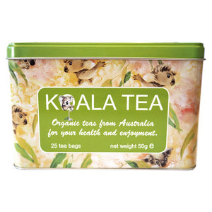 gift box of organic australian tea from koala tea