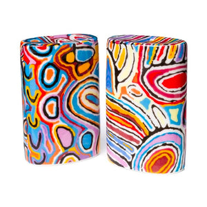 Mina Mina Dreaming Salt & Pepper Shakers by Judy Watson