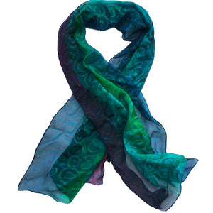 Cotton Scarf - Saltwater by Saretta
